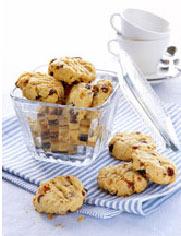Cookies con chocolate y almendras