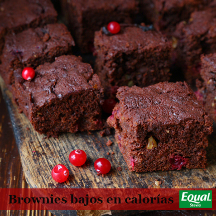 Brownies Equal Stevia