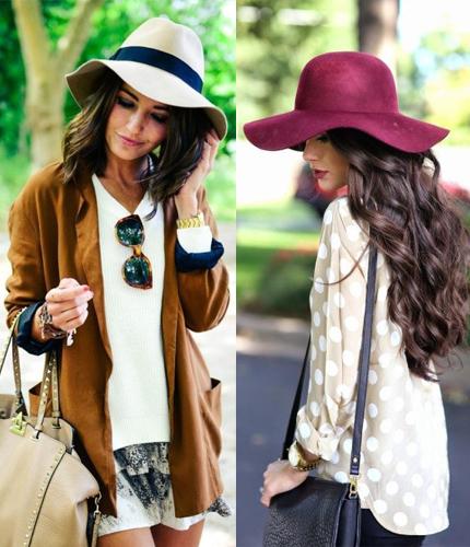 Cómo llevar un sombrero con la frente bien en alto - Comuna Mujer 9f07346b495