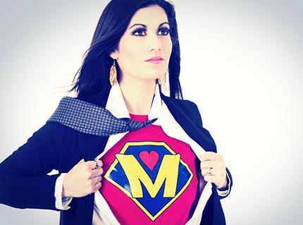 No es necesario ser una supermamá, sé la mejor mamá que puedas ser