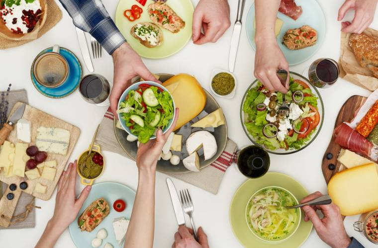 Equilibrio entre el placer por la comida y estar en un buen peso