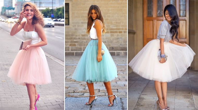 Falda de tul, un clásico que conquistará el verano