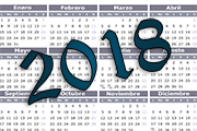 Calendario 2018: feriados no laborables y laborables