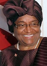 Ellen Johnson-Sirleaf…