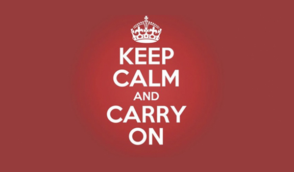 """Keep Calm and Carry On""... ¿conoces la historia de estos carteles?"